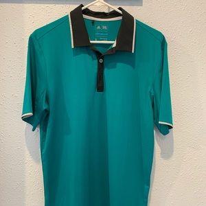 Adidas small climacool polo shirt